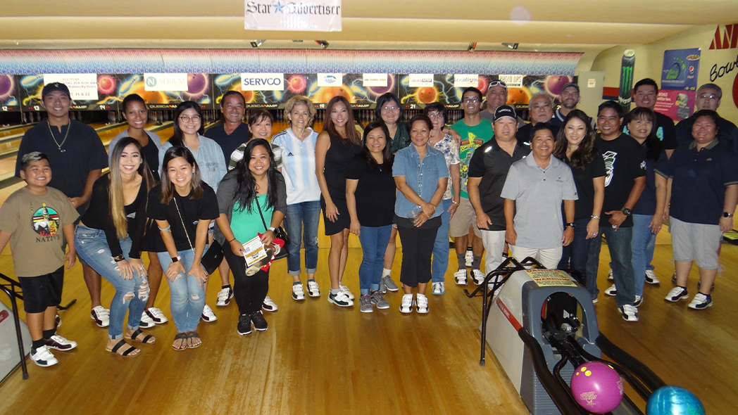 Team Servco's All Star Bowlers Support Big Brothers Big Sisters Hawaii