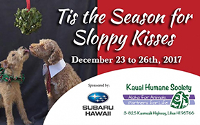 Subaru Hawaii Partners with Kauai Humane Society for Sloppy Kisses Adoption Event