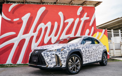 Servco Lexus & POW! WOW! Hawaii Take Art to the Streets with the New Lexus UX